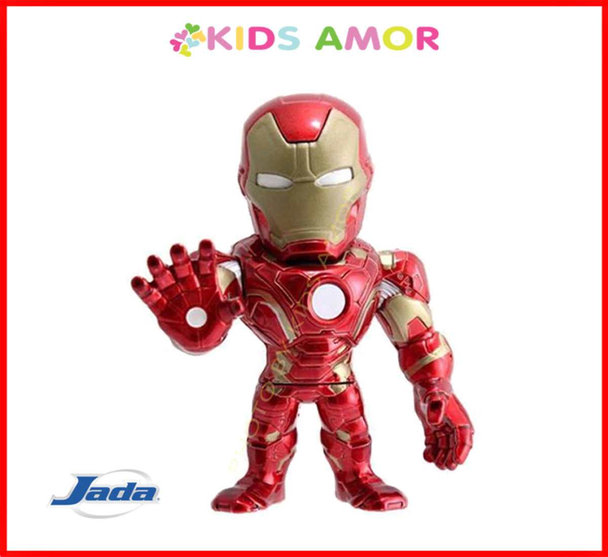 "Marvel Captain America 美國隊長3 Civil War: 4"" 合金Figure - 鐵甲奇俠 Iron Man"