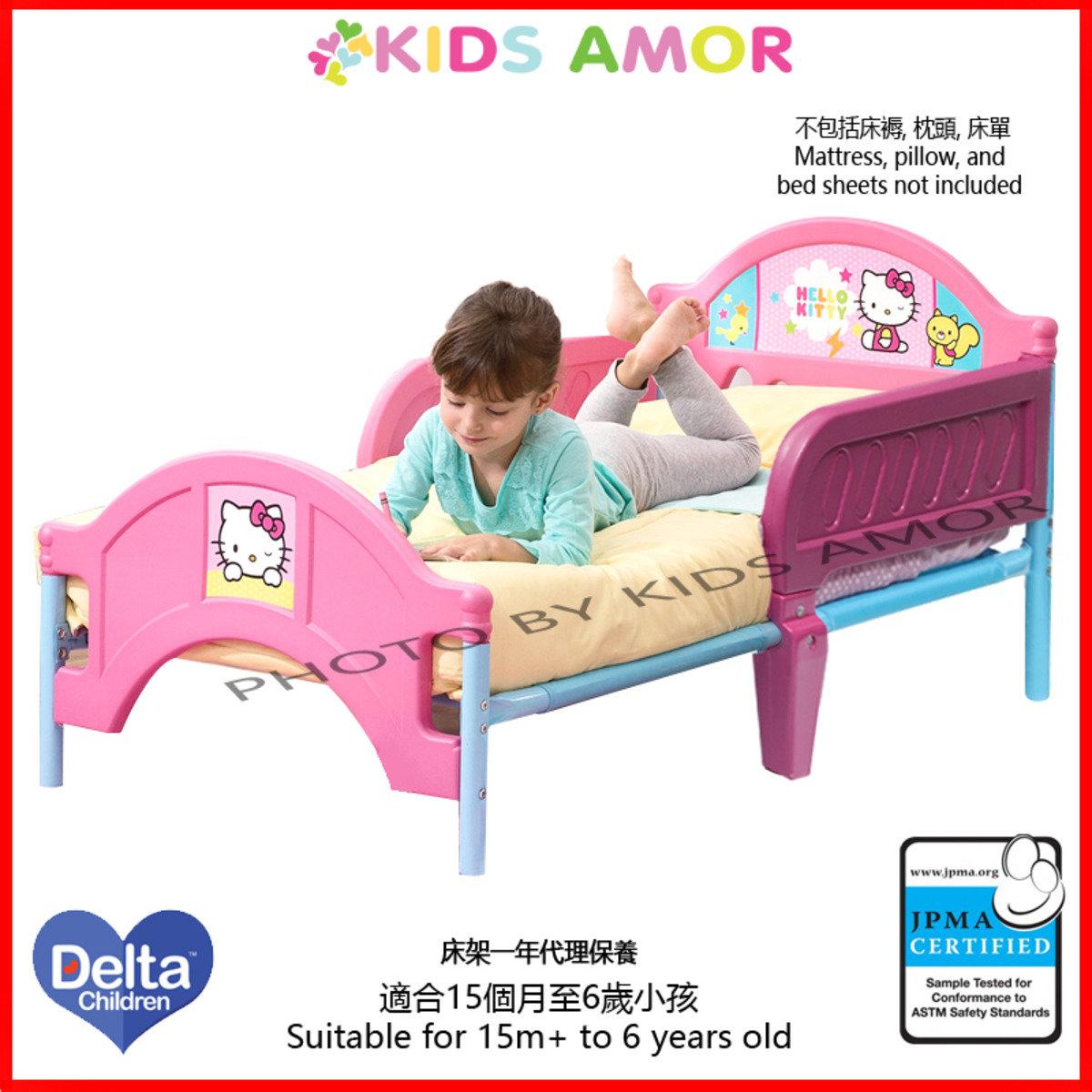 Hello Kitty兒童床架(一年有限保養)