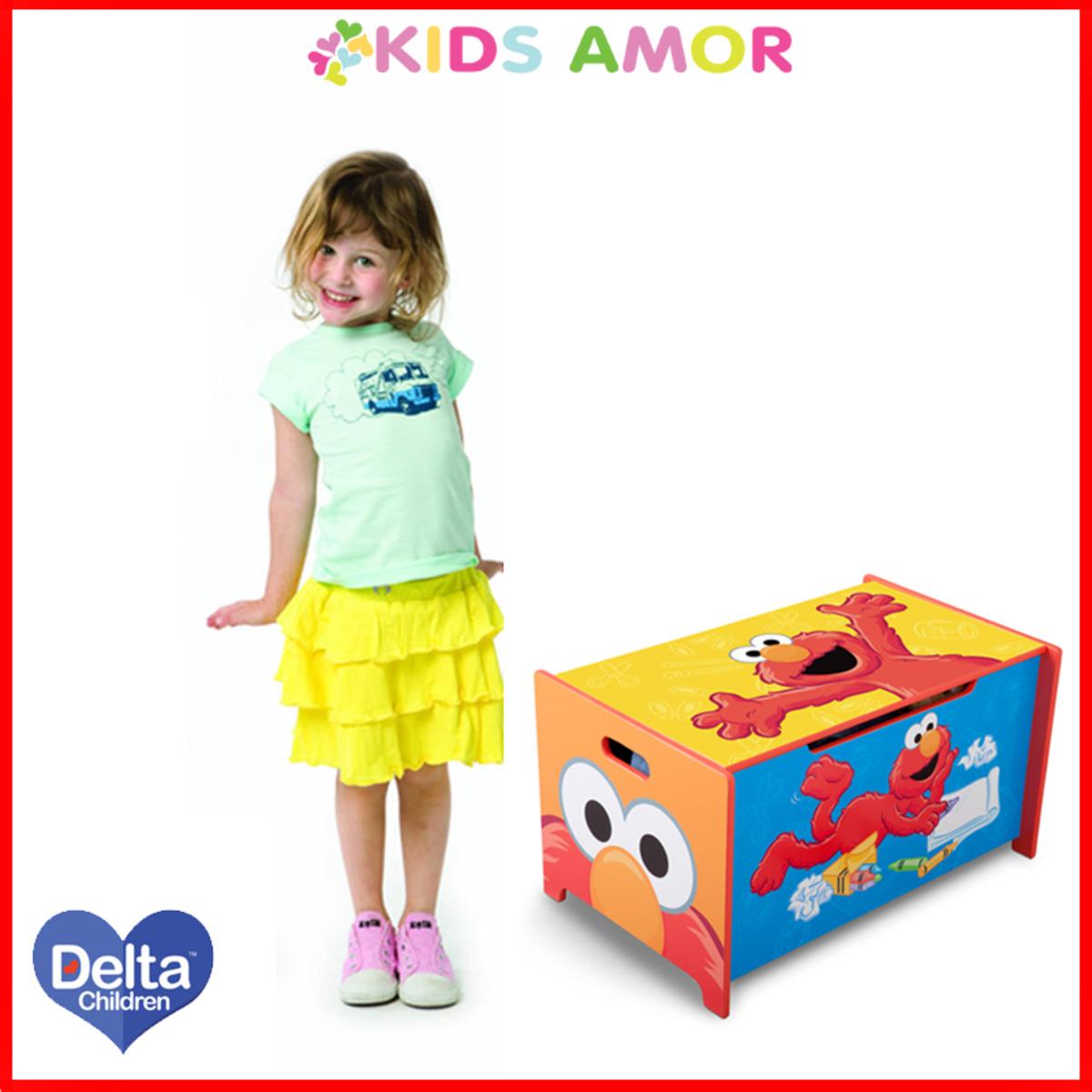 美國Delta芝麻街玩具箱 Sesame Street