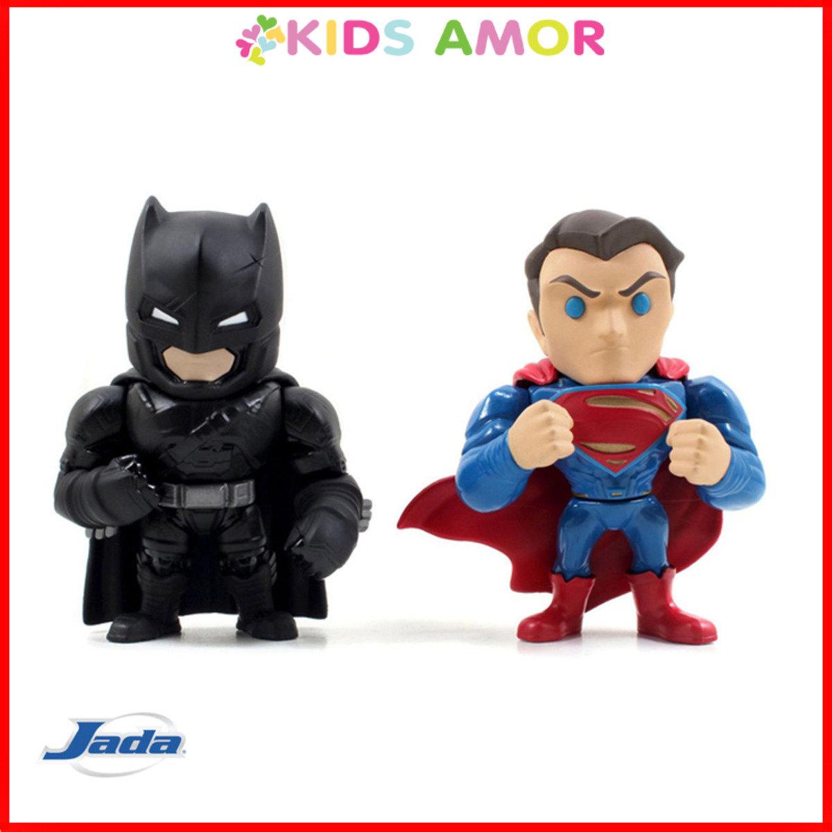 "JADA - 4"" 合金FIGURE: 蝙蝠俠對超人"