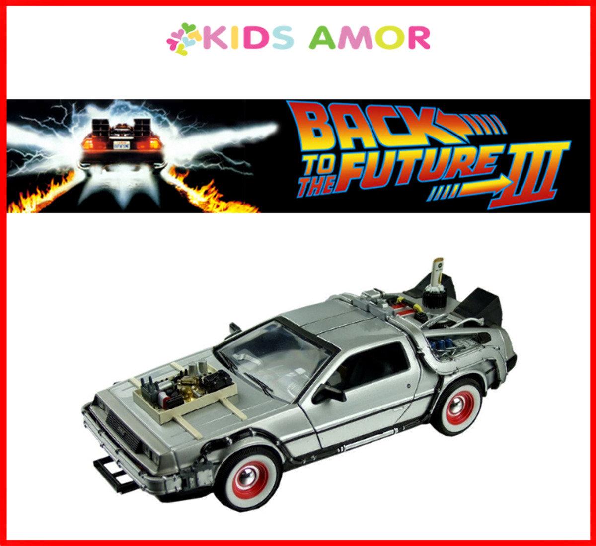 回到未來 III: 1/24 Delorean 合金模型車