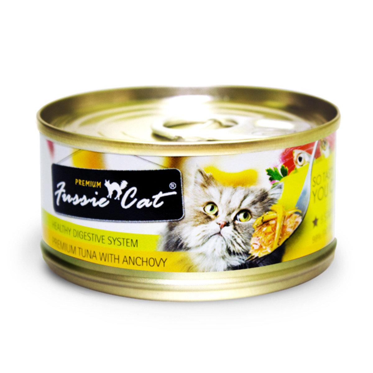 黑鑽吞拿魚+ 鯷魚80g X 24 罐