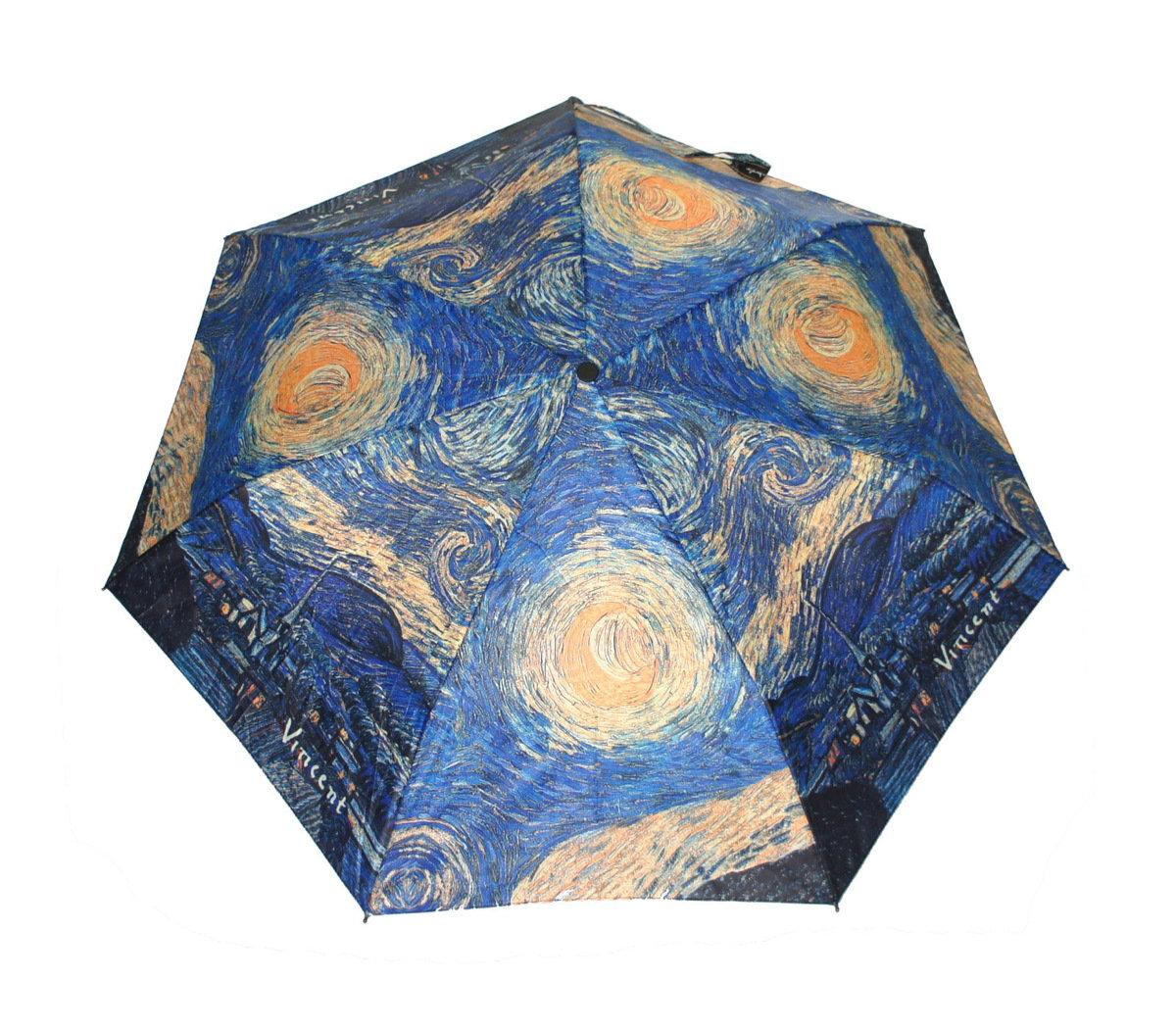 晴雨兩用雨傘連手杖(梵高-星夜)