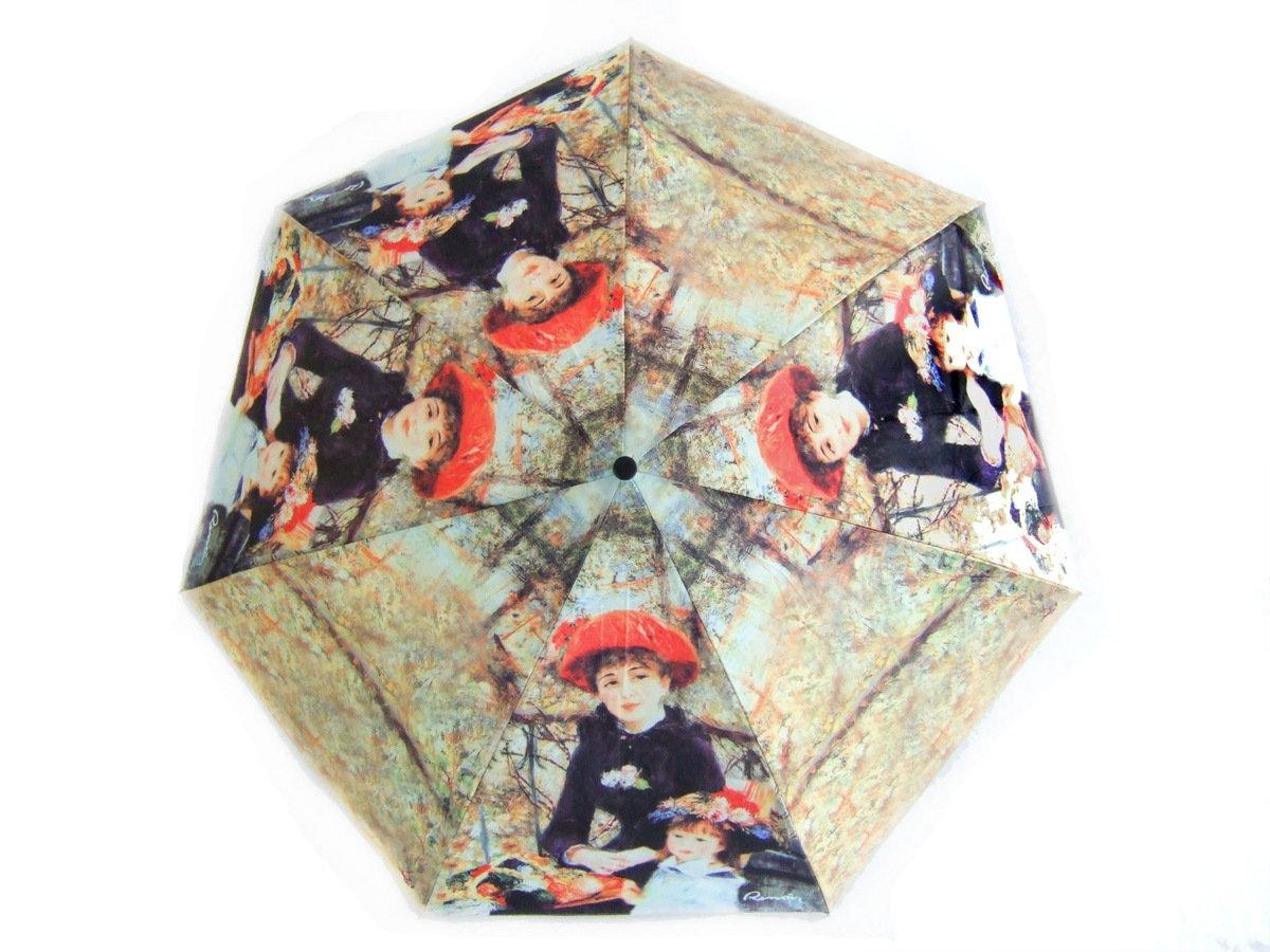 晴雨兩用雨傘連手杖(雷諾瓦-平臺上)
