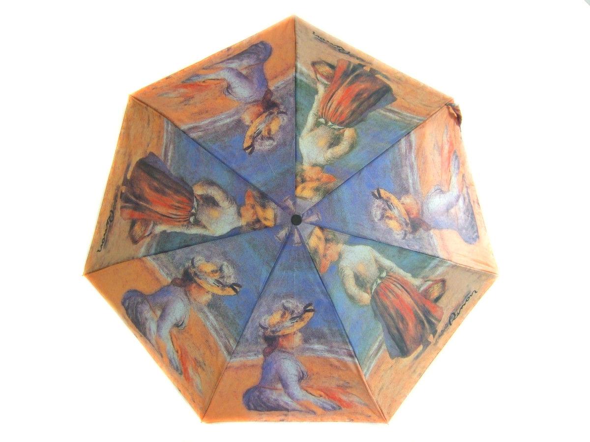 晴雨兩用雨傘連手杖(雷諾瓦-海灘上的人)