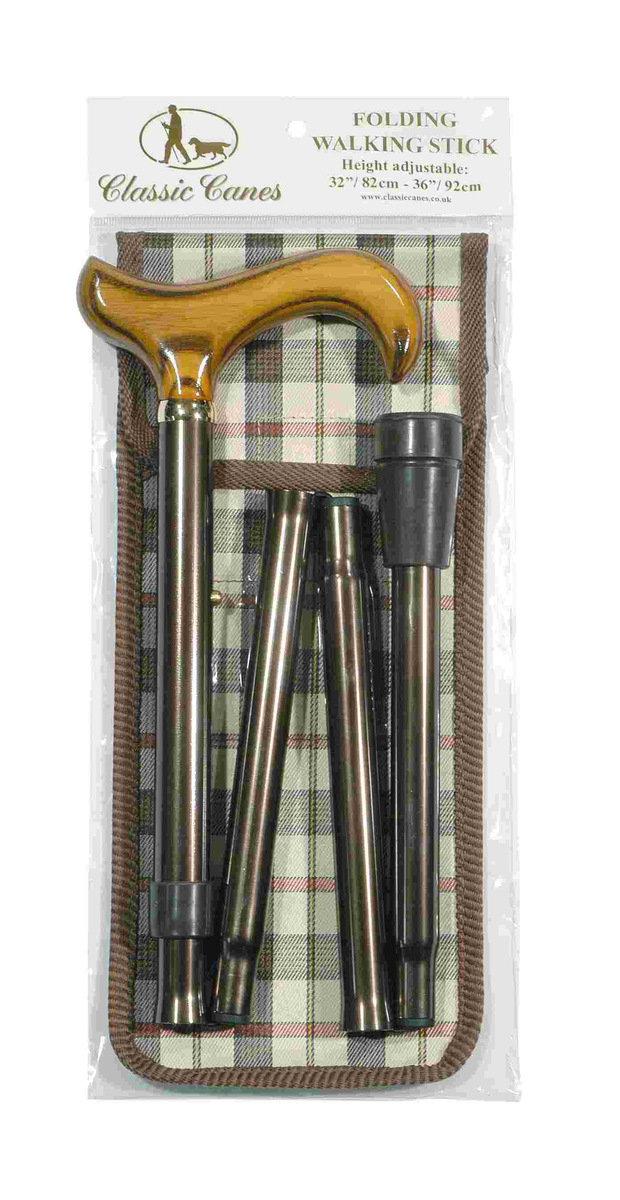 可摺式手杖連袋套裝