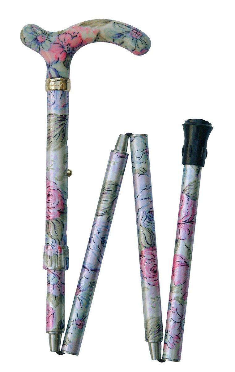 纖巧可摺式手杖 ﹣ 粉紅紫