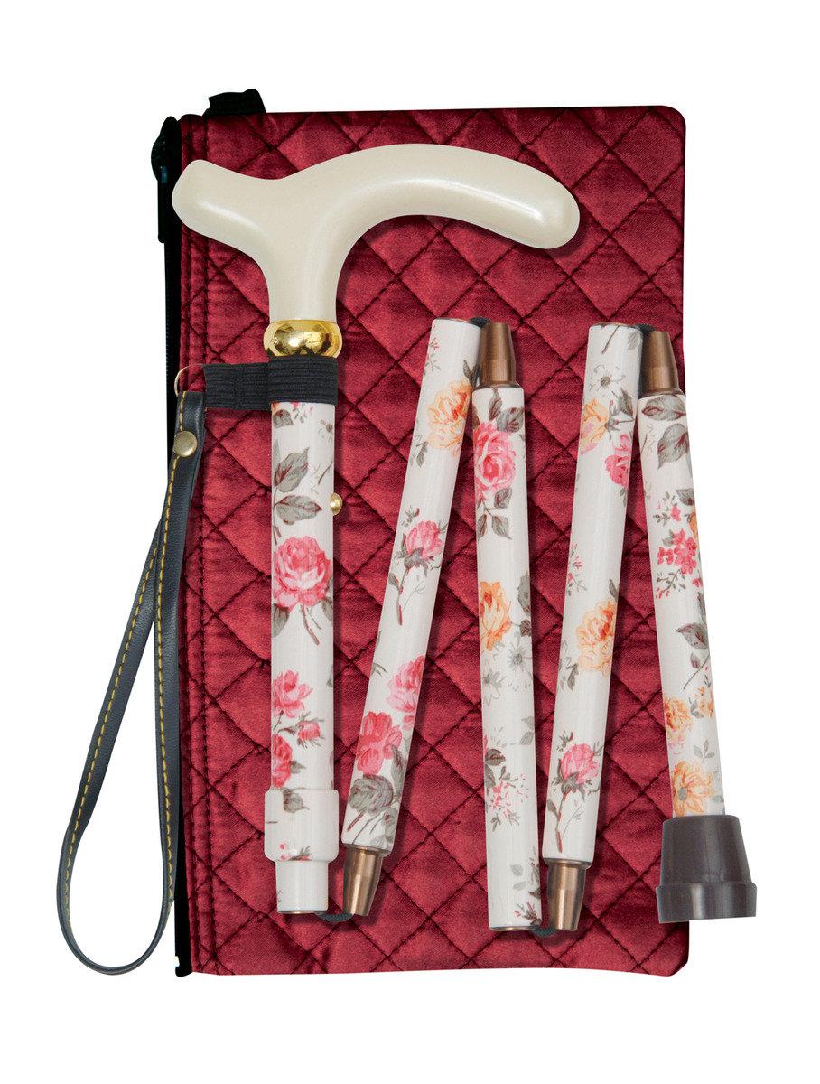 可摺式手杖連袋及手繩套裝 ﹣ 米花