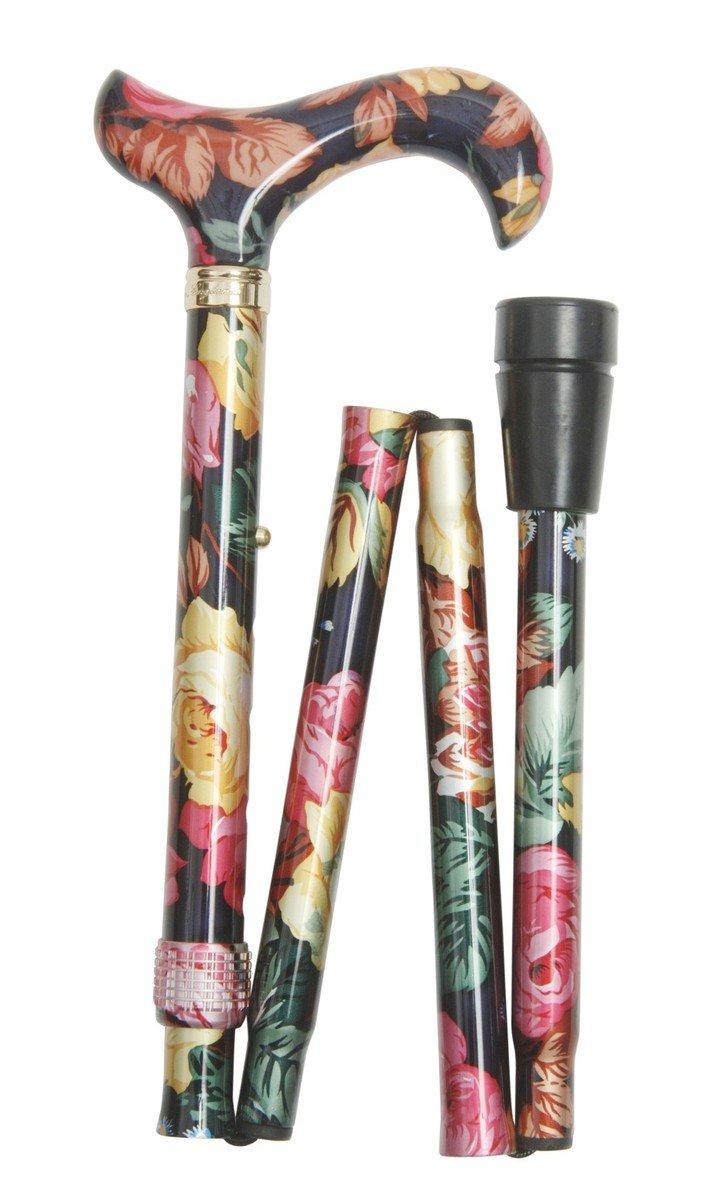 時尚可摺式打吡手杖 ﹣ 繽紛花