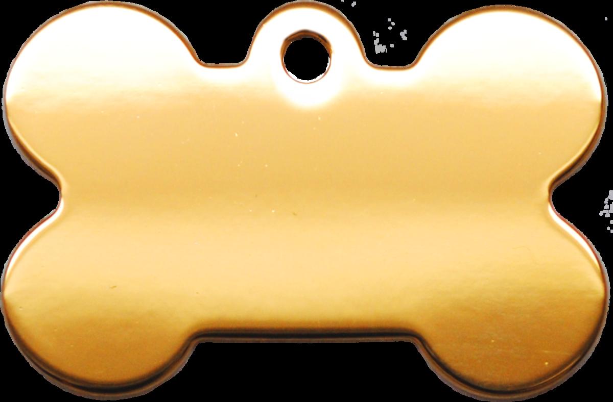 金色光身狗骨