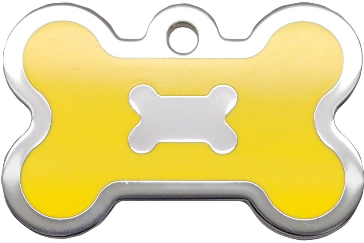 黃色水磨膠大狗骨