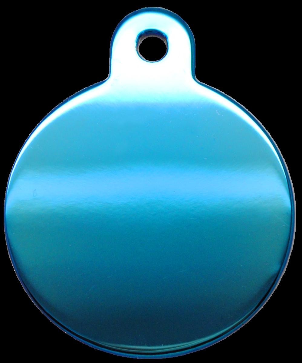 藍色光身大圓