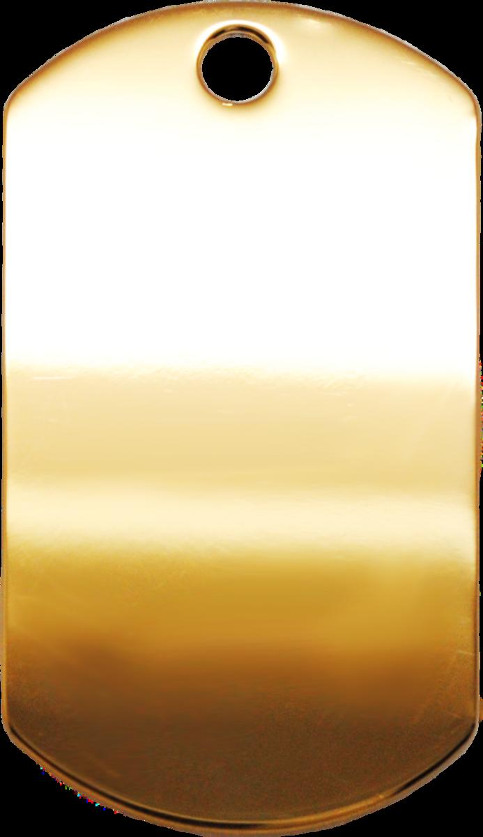 金色光身大軍牌