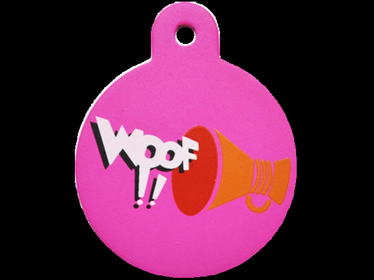 喇叭WOOF !!大圓