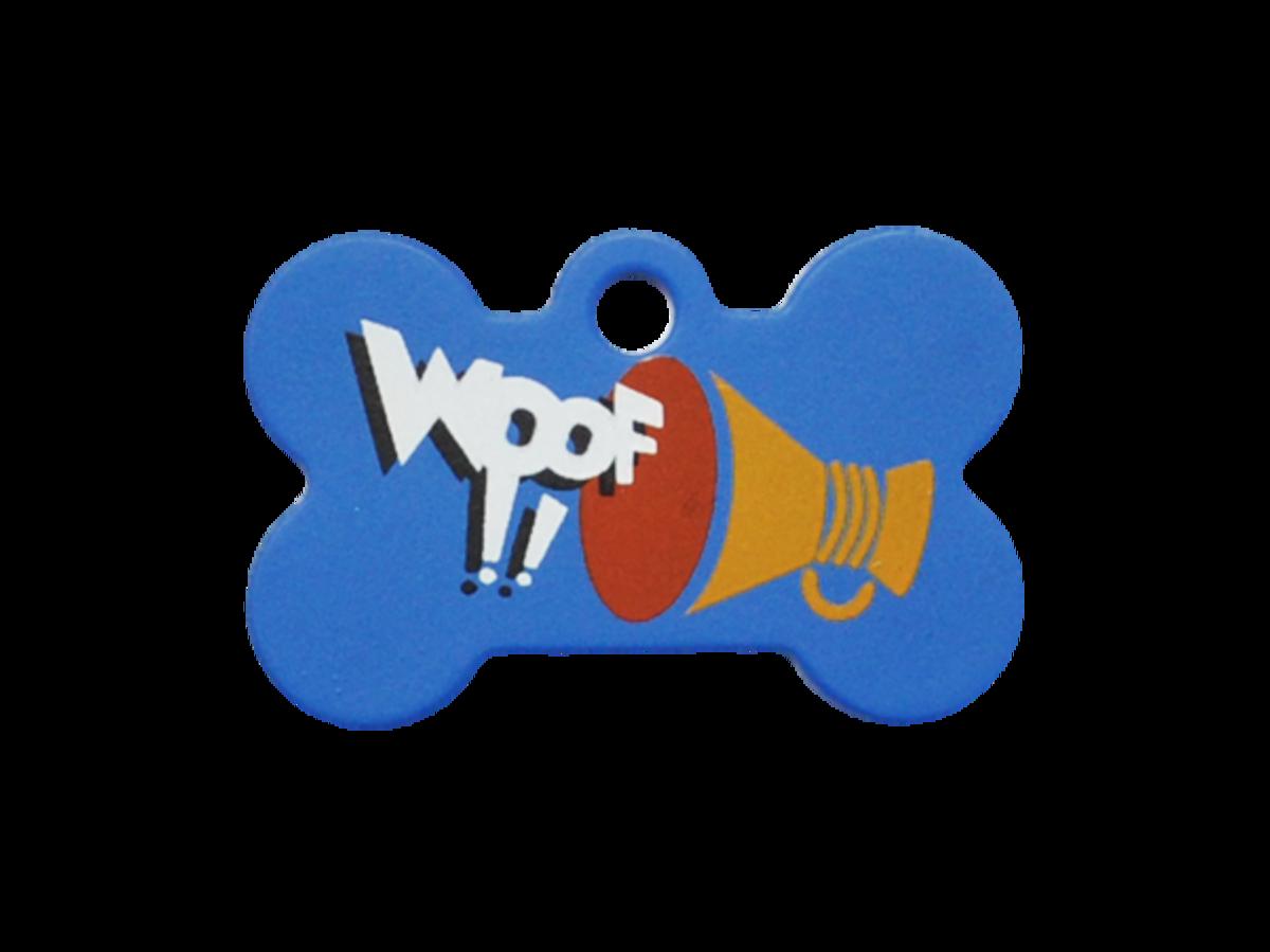 喇叭WOOF !!小狗骨