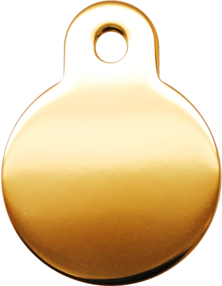 金色光身小圓