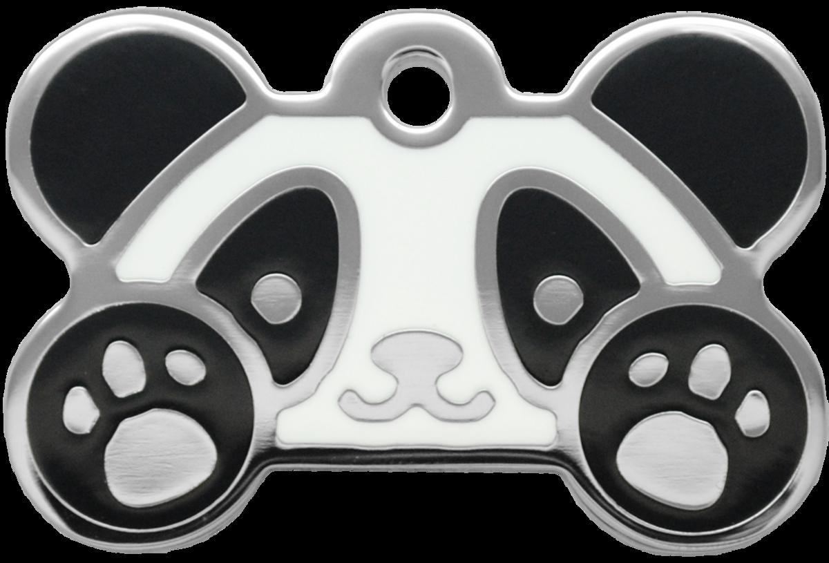 熊貓水磨膠狗牌