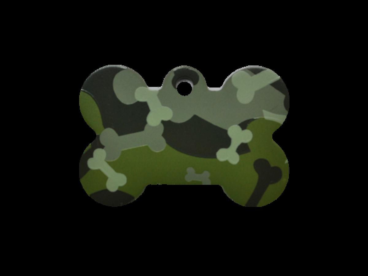 植物綠狗骨迷彩小狗骨