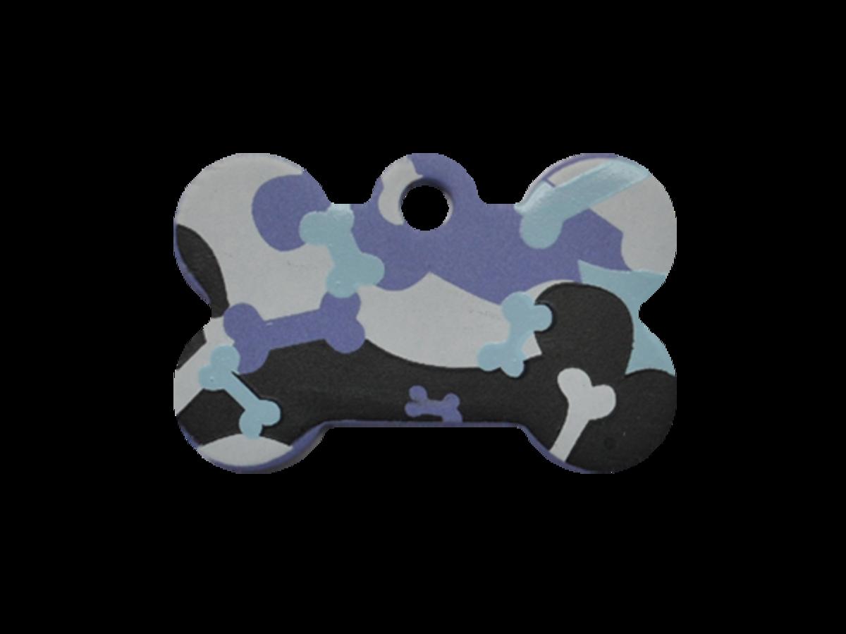 紫色狗骨迷彩小狗骨
