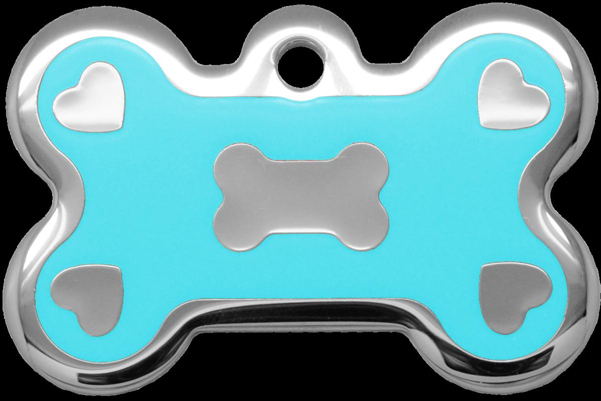 心型水磨膠大狗骨