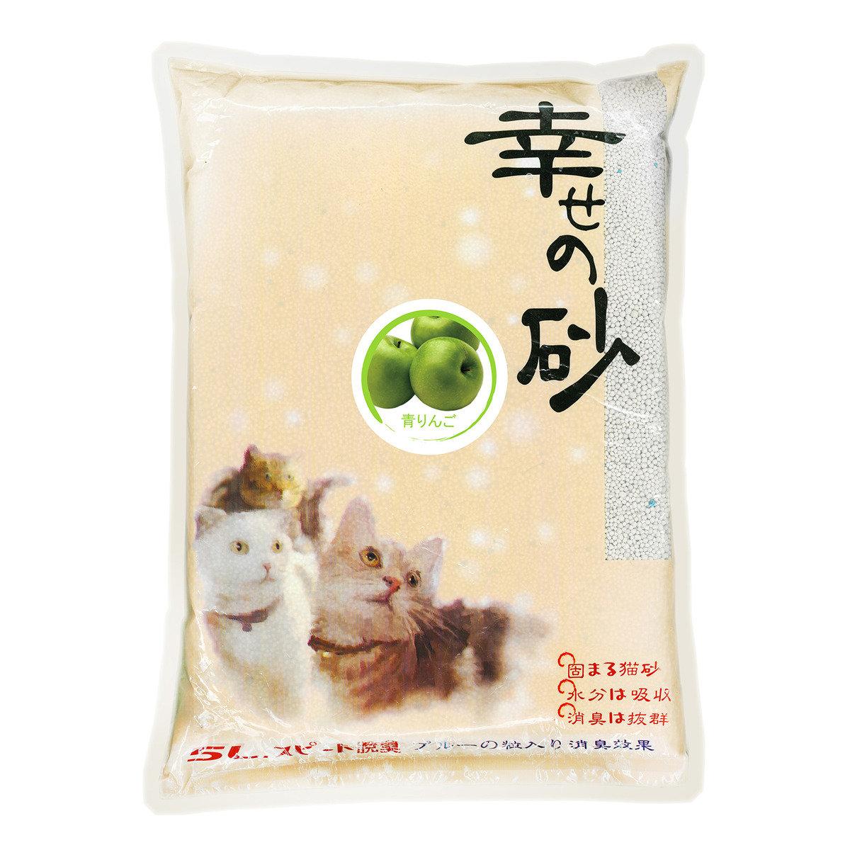 圓粒型膨潤土砂 (青蘋果味) 5L