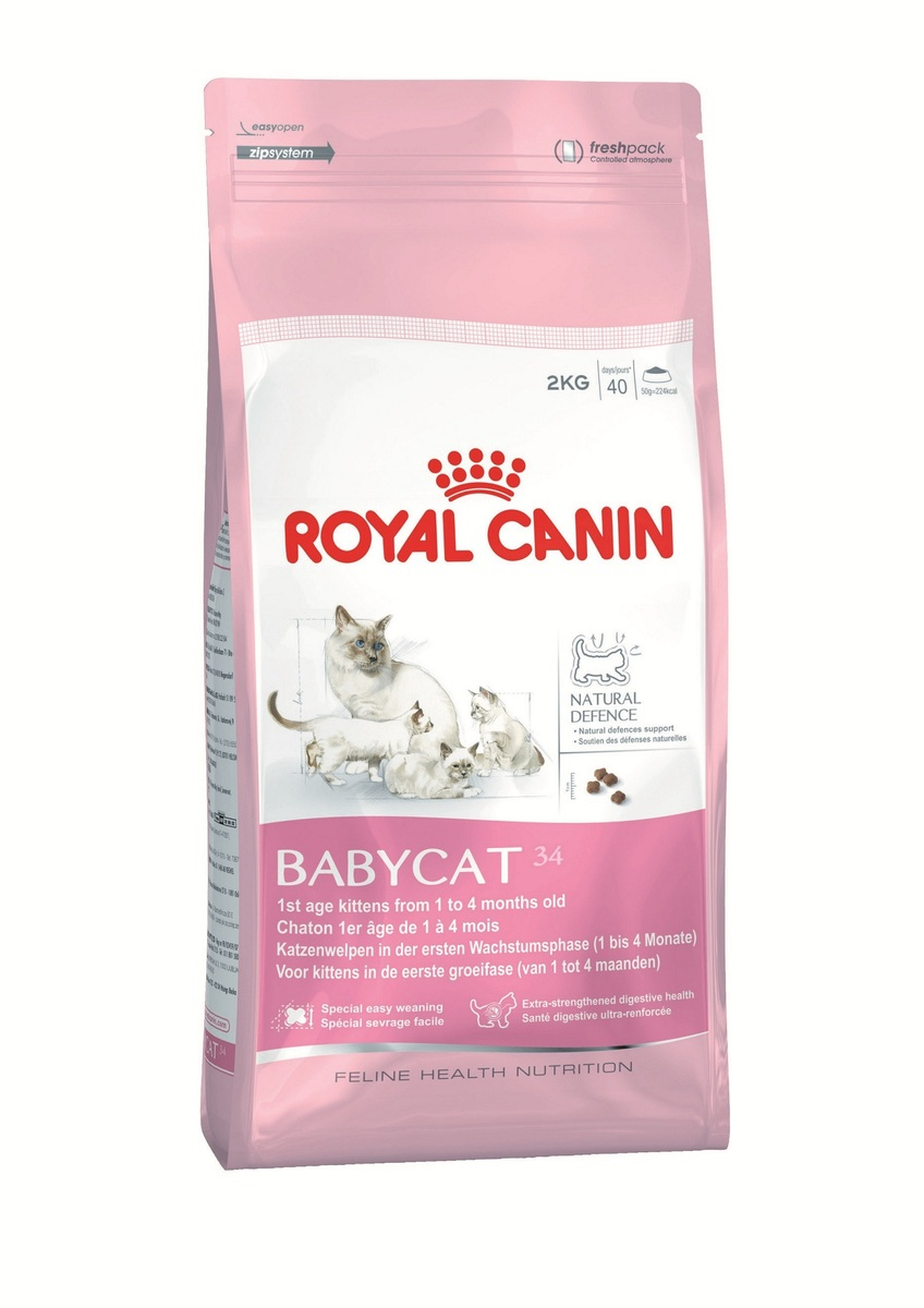 Baby Cat 34 幼貓及母貓配方 (BA34)