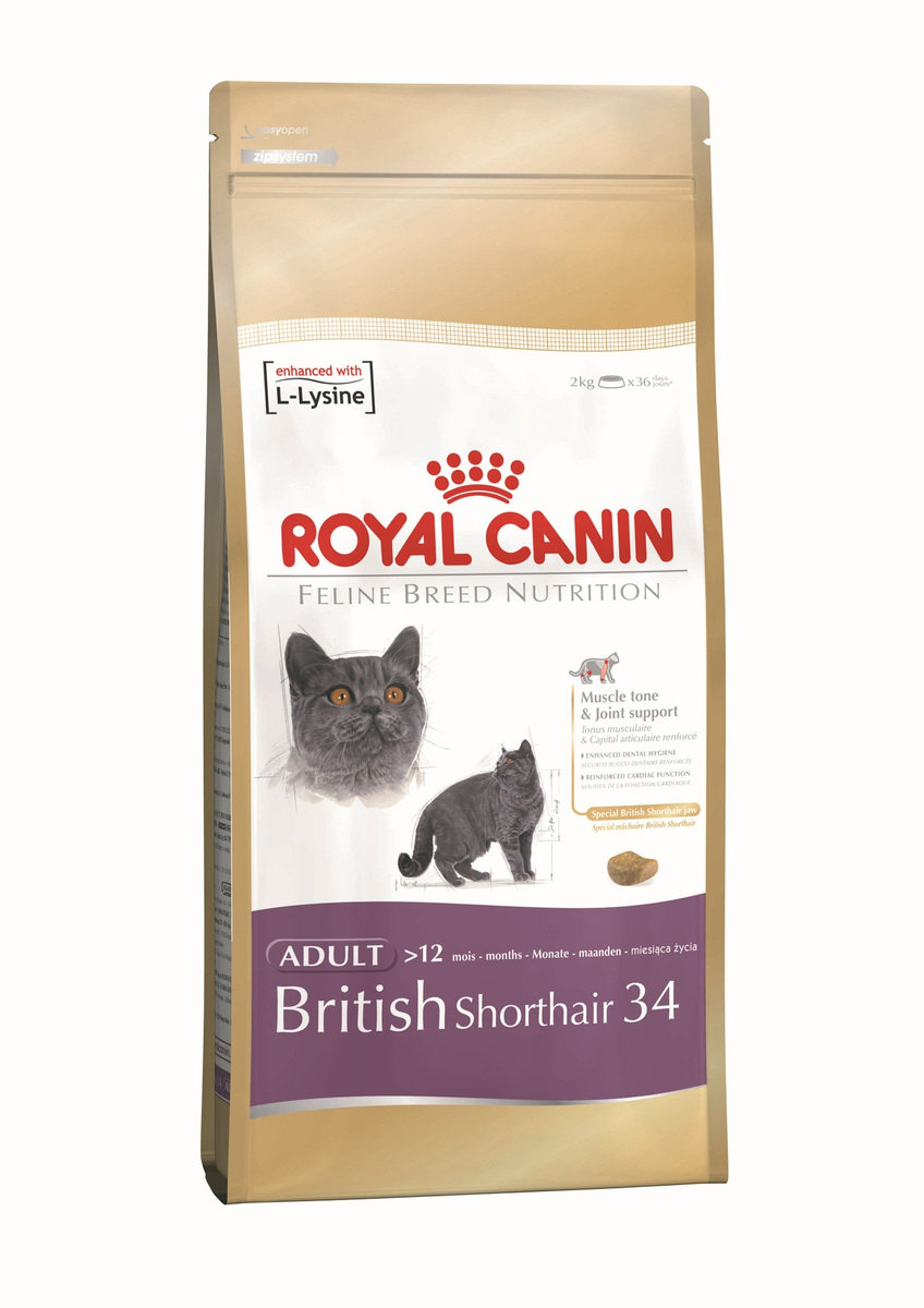 British Shorthair 34 英短配方 (BSH)