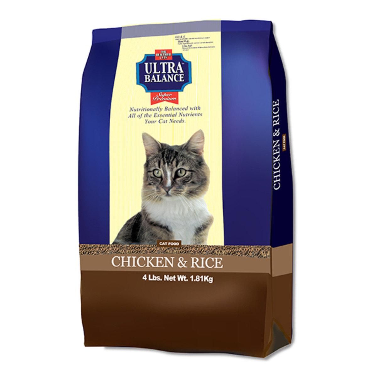雞肉加飯配方貓糧 4磅