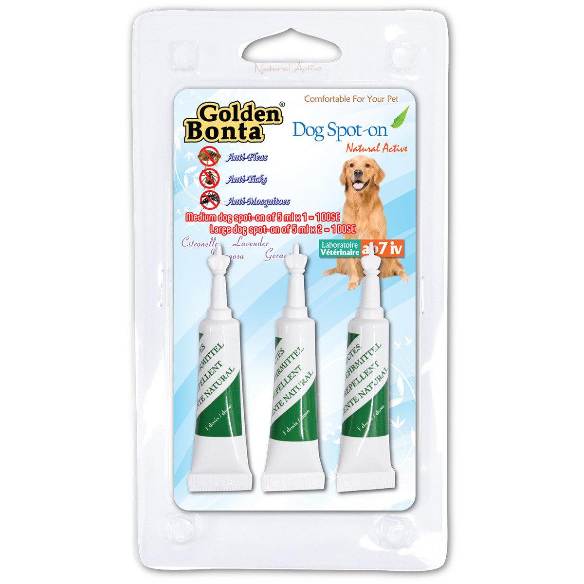 法國天然抗蚊蝨滴劑 (大型犬用)