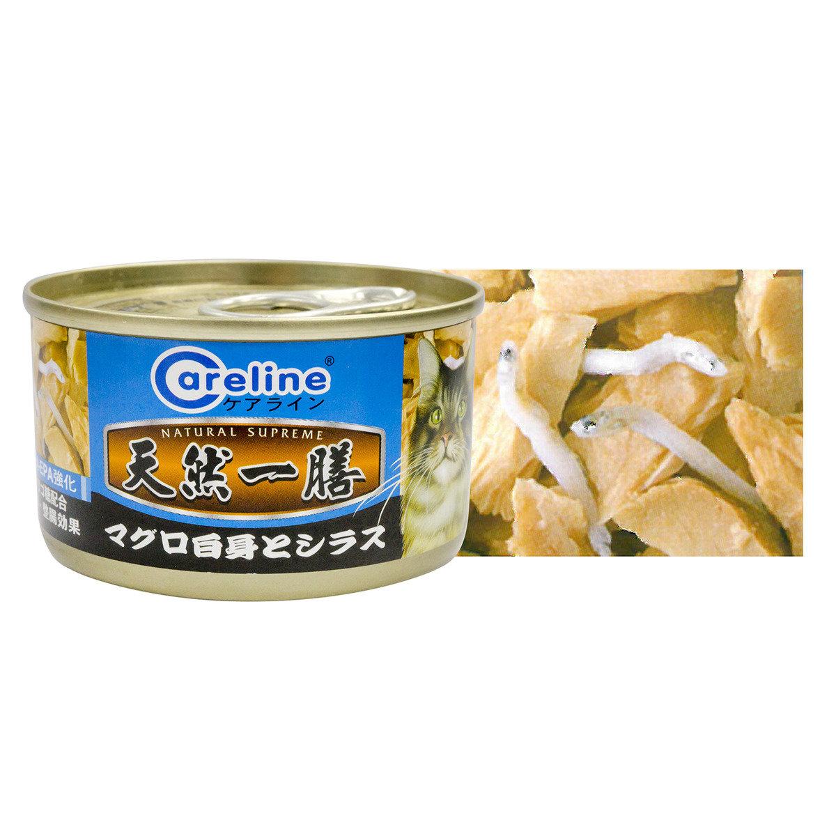 白身吞拿魚加白飯魚 90克