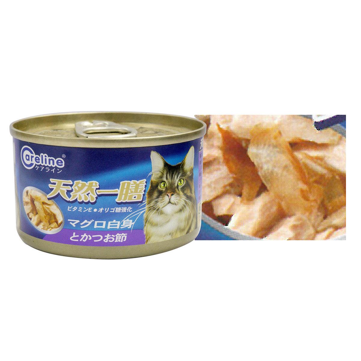 白身吞拿加魚片(鰹魚) 90克