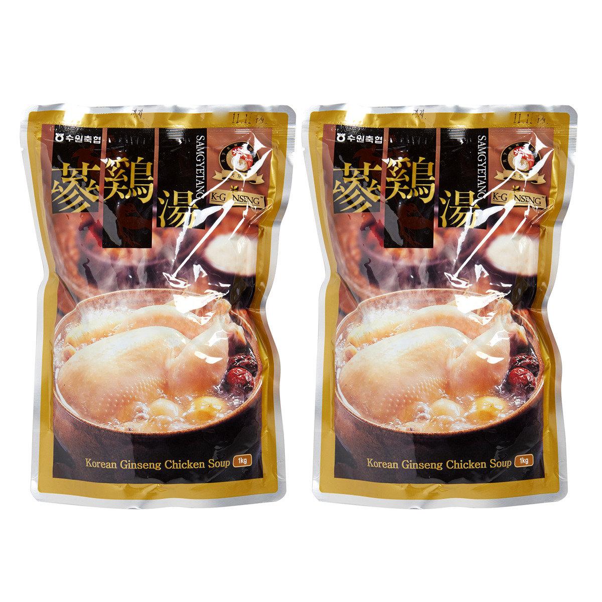 蔘雞湯 1kg*2packs