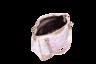 經典粉紫地圖方形單肩包