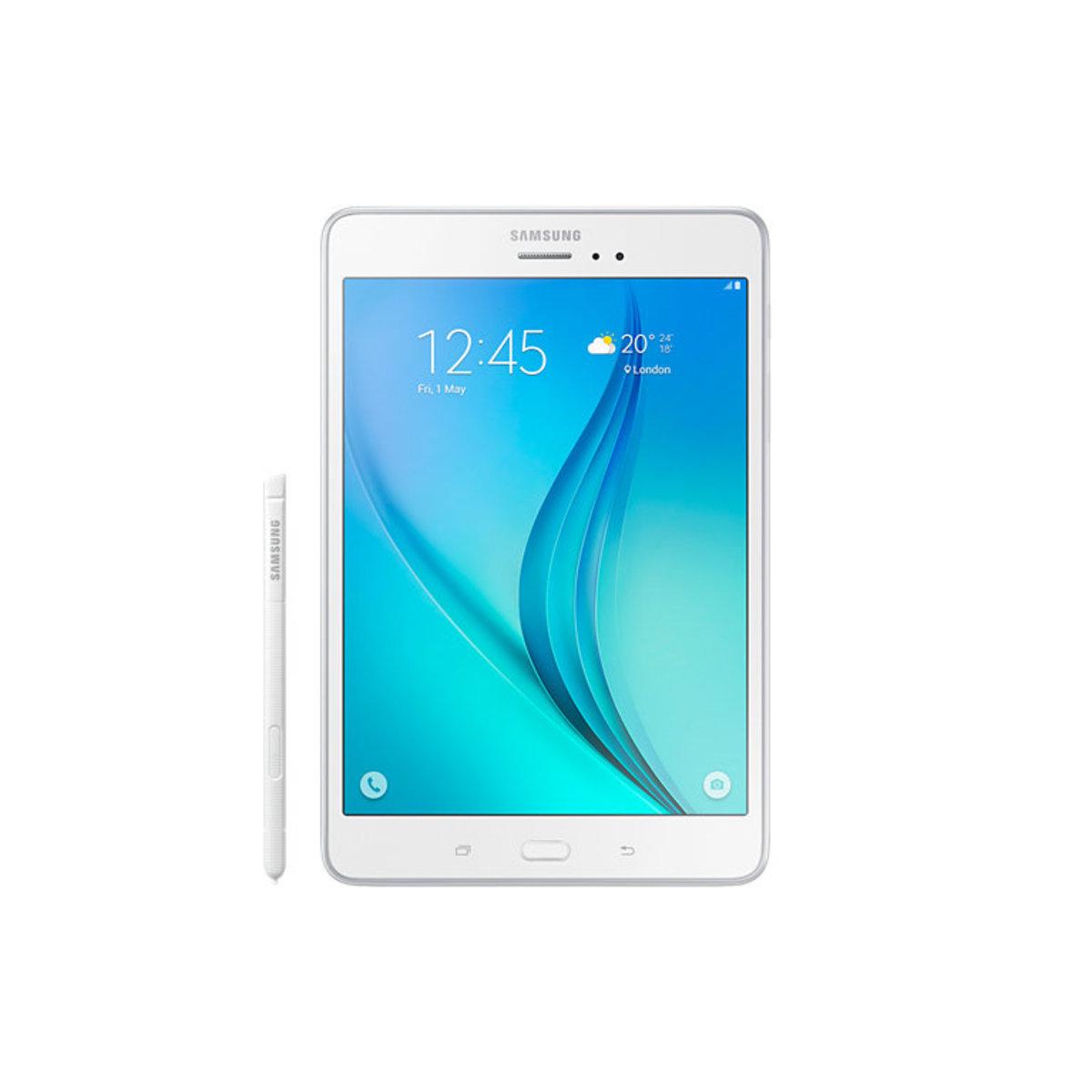 """三星 Galaxy Tab A (8"""") P355 LTE 白色"""