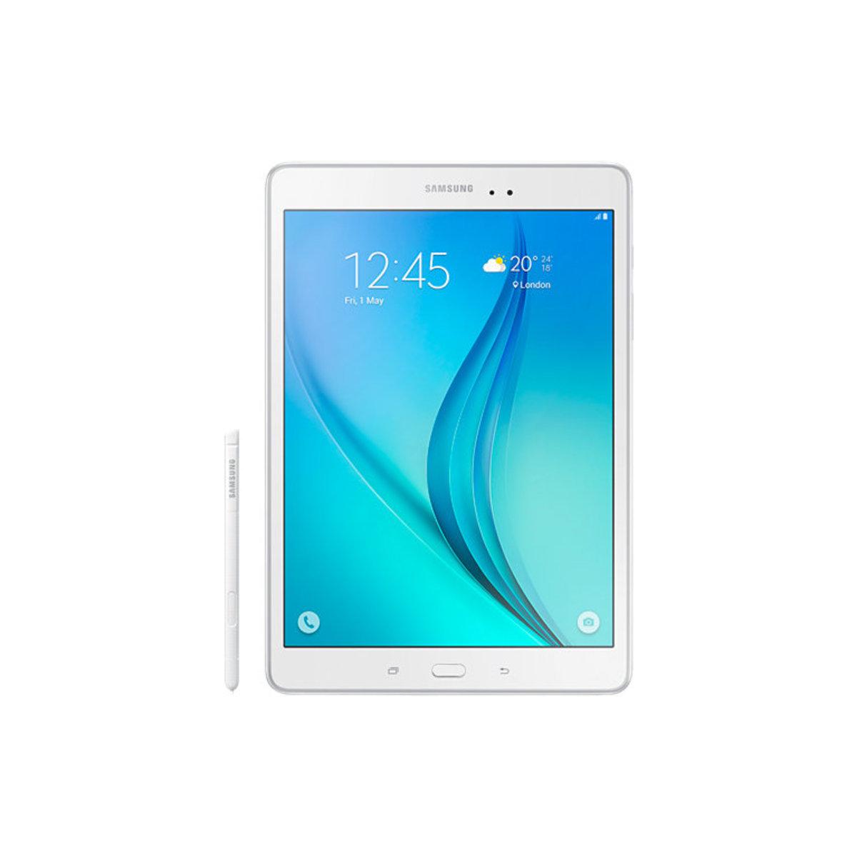 """三星 Galaxy Tab A (9.7"""") P555 LTE 白色"""