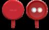 LOLLIFLASH 雙色溫 LED 補光燈 - 紅色