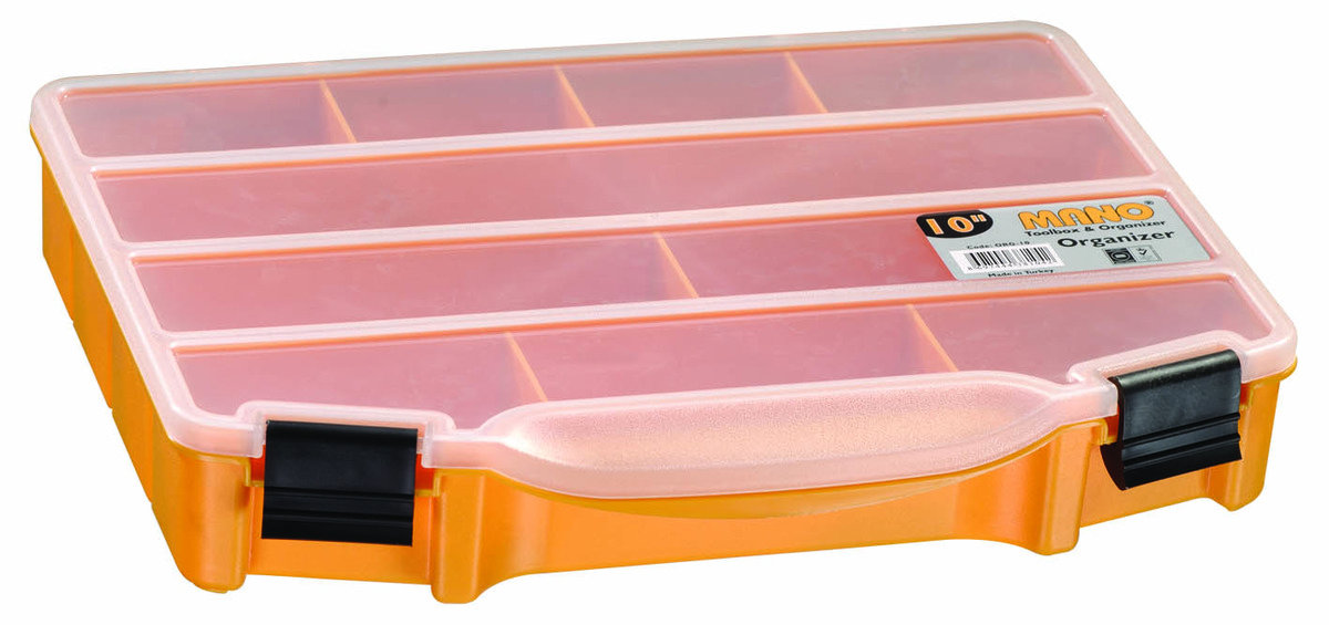 ORG-10 MANO 多格收納工具盒 (10格)