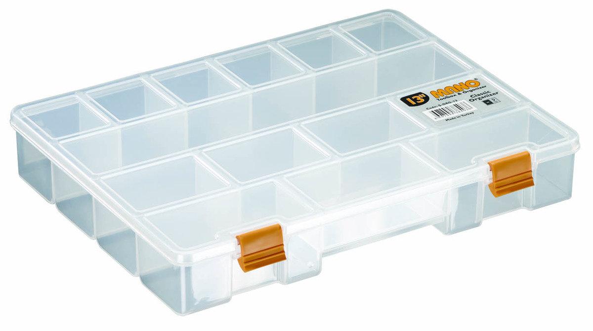 S-ORG-13 MANO 多格收納工具盒 (14格)