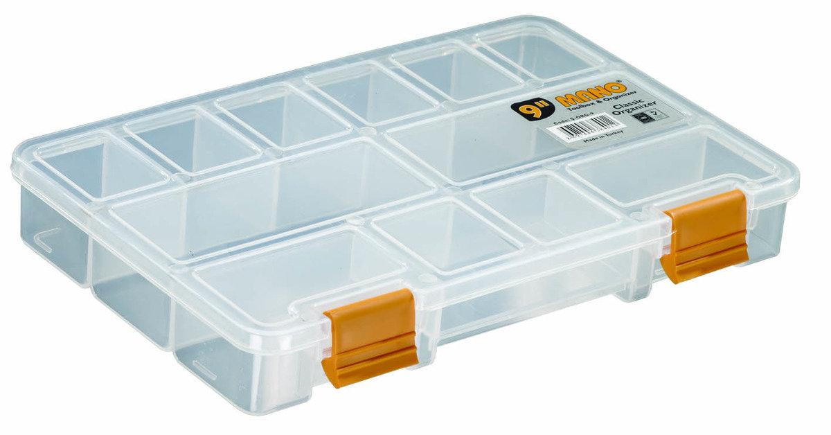 S-ORG-9 MANO 多格收納工具盒 (11格)