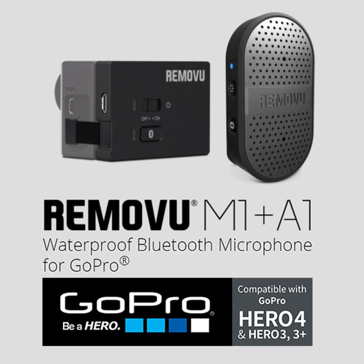 A1+M1 「GoPro防水藍芽麥克風及接收器」
