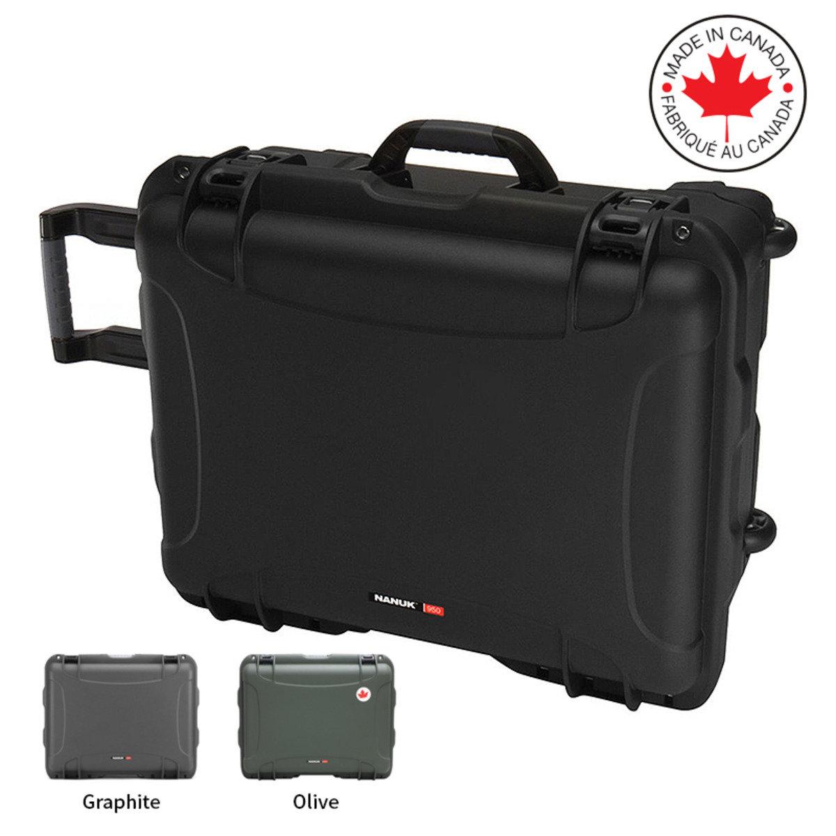 950 多用途三防 拖拉式隔層連海綿保護箱-3色(加拿大製造)