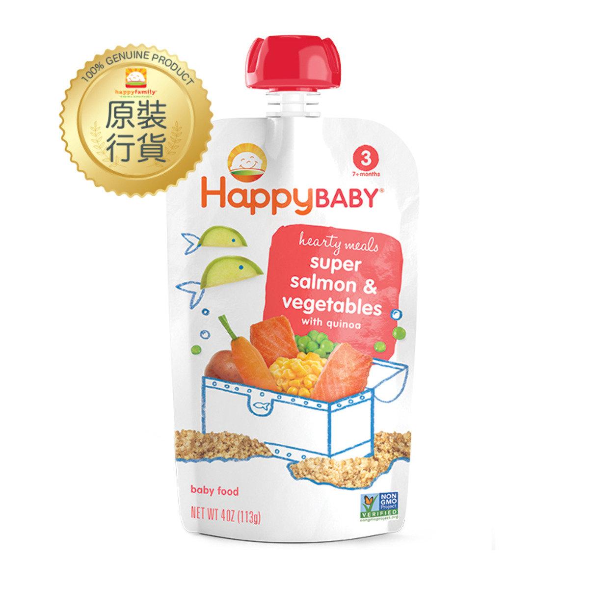 三文魚蔬菜拌藜麥嬰兒食品 113g (第三階段)