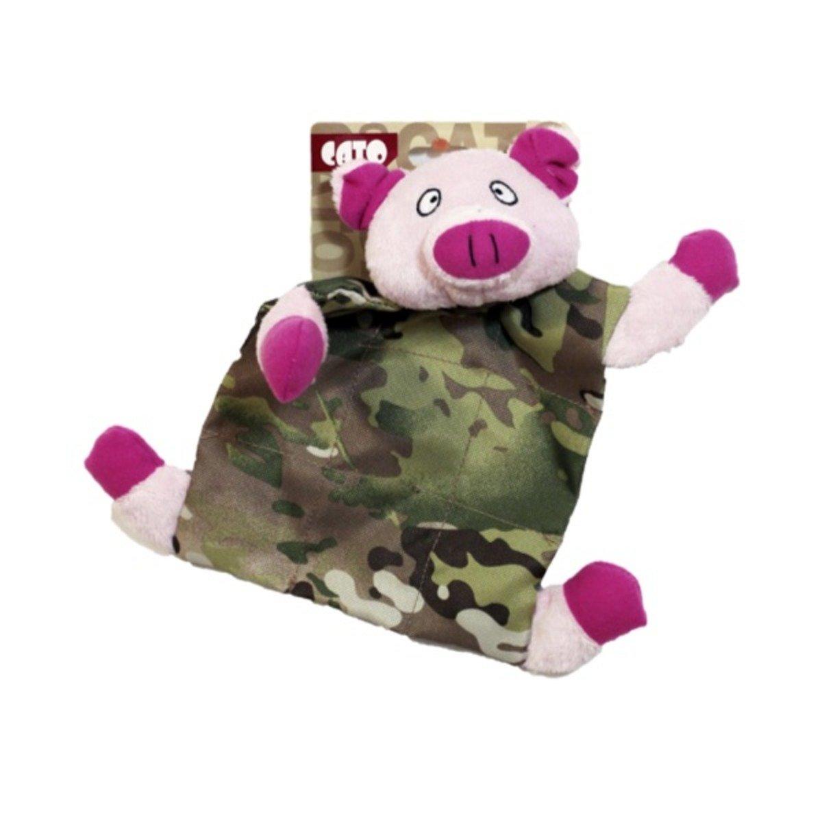 Love Pet 迷彩豬仔咇咇玩具