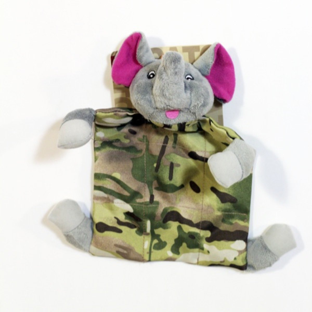 Love Pet 迷彩大象咇咇玩具