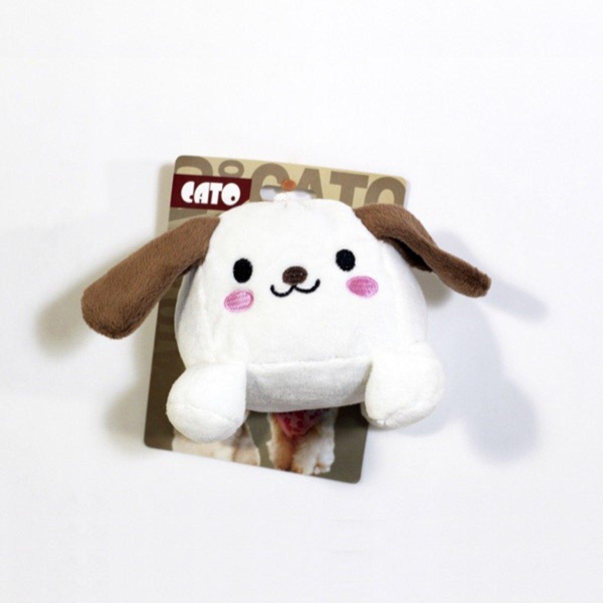 Love Pet 小白狗咇咇玩具