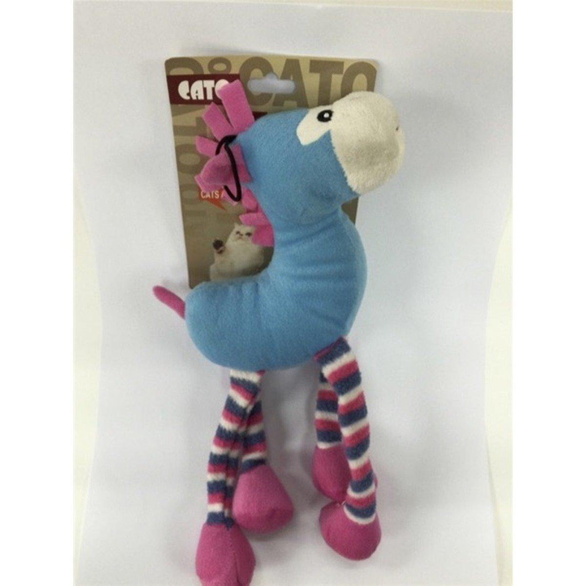寵物玩具-軟蹄馬 (藍)