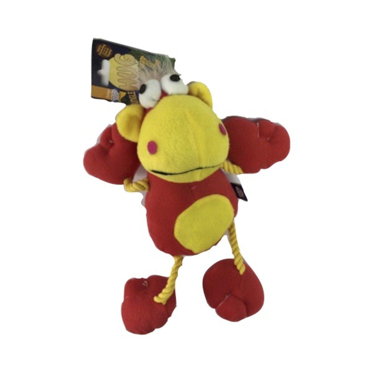 寵物玩具-布馬騮 (紅)