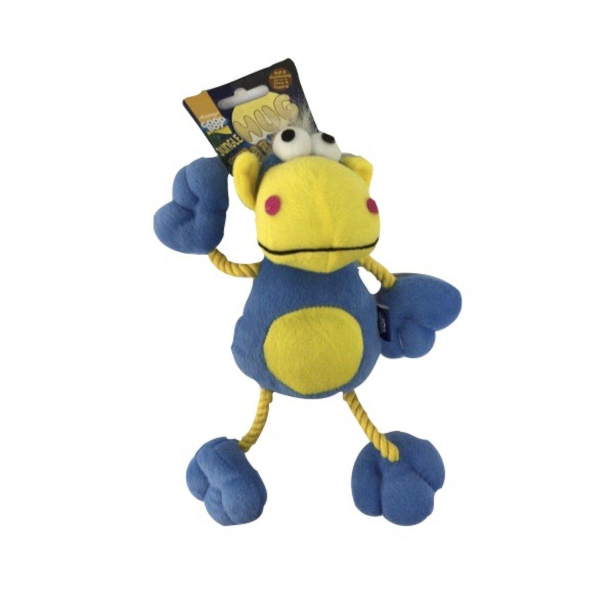 寵物玩具-布馬騮 (藍)