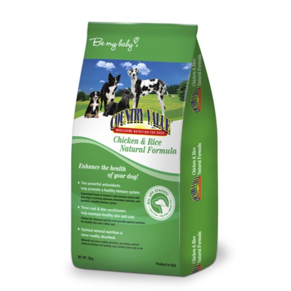 美國 CV全犬糧 雞肉米飯天然配方15kg