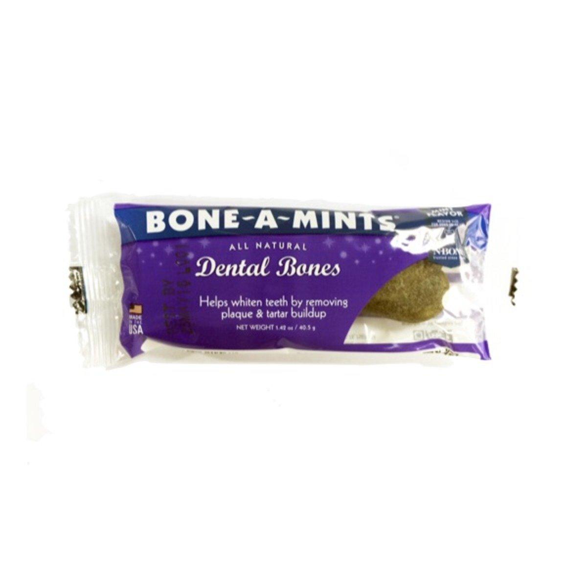 美國 BONE-A-MINTS 薄荷味潔齒骨單支裝(中)1.42oz